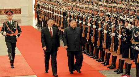 North Korean leader Kim Jong-un to visit Beijing today