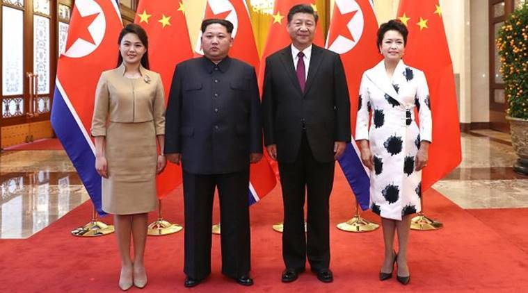 Kim meets Xi during 'unofficial visit'