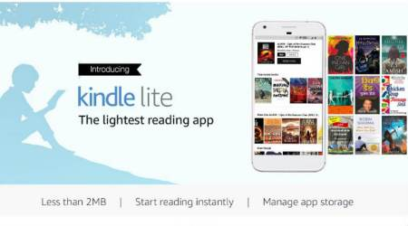 Amazon Kindle Lite app, Amazon Kindle Lite India, entry-level smartphones, Amazon Kindle Lite Play Store, slow internet connections, Amazon Kindle Lite size, Kindle Lite e-books, Android apps, Amazon Pay, mobile networks