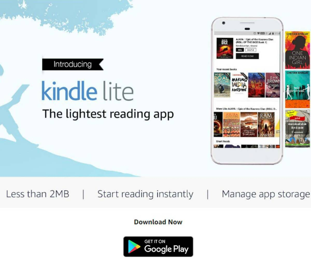 Amazon Kindle Lite Android app launched in India: How to