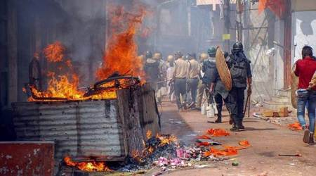 Stone pelting during Ram Navami procession in Asansol stokes fresh tension