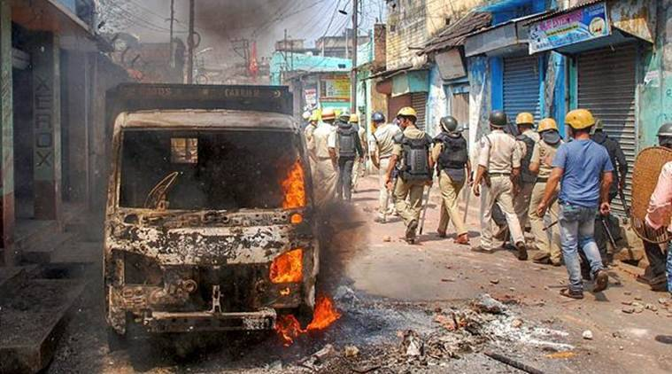 West Bengal Ram Navami Clashes, West Bengal Ram Navami Violence, Bengal Ram Navami Clashes, Bengal Ram Navami Violence, Ram Navami, CM Mamata Banerjee, Mamata Banerjee, Kolkata News, Latest Kolkata News, Indian Express, Indian Express News