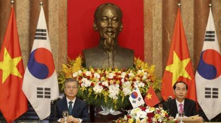 South Korea president's Vietnam visit aims to deepen trade ties