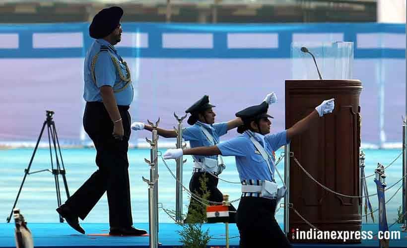 Ram Nath Kovind at Halwara Air Force Station