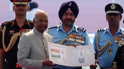 In Pics: President Kovind honours IAF officers, says it symbolises India's military excellence