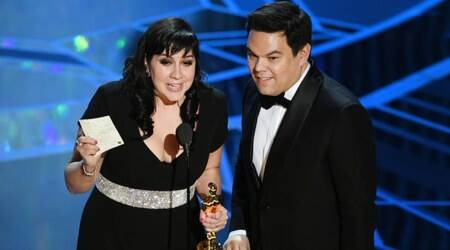 'Let It Go' songwriters Kristen Anderson-Lopez and Robert Lopez win 2nd Oscar for 'Remember Me' song fromCoco