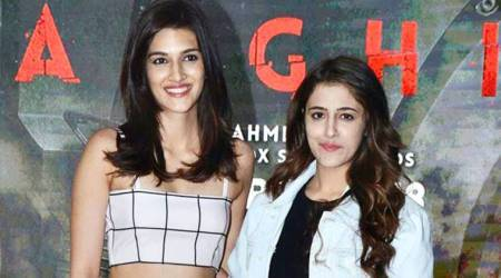 Kriti Sanon, matching separates, matching co-ords, Baaghi 2, Baaghi 2 screening, Deepika Padukone, Alia Bhatt, Anushka Sharma, Kriti Sanon fashion, Kriti Sanon style, Kriti Sanon latest news, Kriti Sanon latest photos, Kriti Sanon images, Kriti Sanon pictures, Kriti Sanon updates, celeb fashion, bollywood fashion, indian express, indian express news