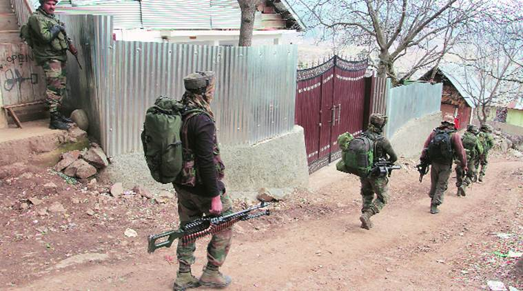 Kupwara op in final stage, Armymen cite low visibility, difficult terrain