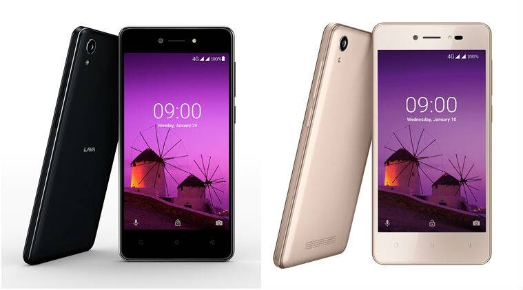 LAVA Z50 smartphone with Android Oreo, price of Rs 2400 launched