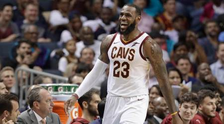 LeBron James ties Michael Jordan for longest double-digit points streak