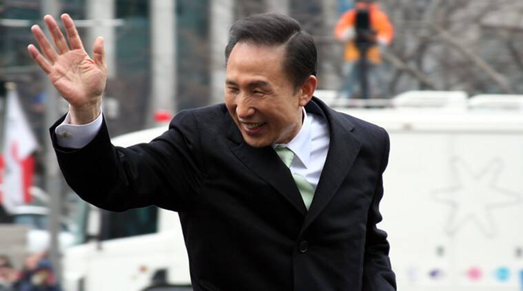 Former South Korean president Lee Myung-bak graft case