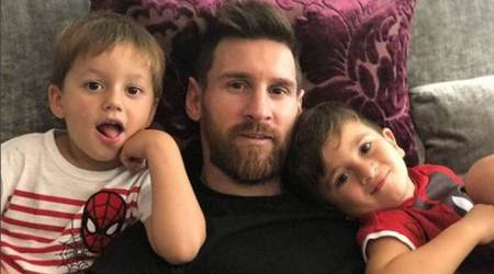 Lionel Messi 'super happy' after birth of third son