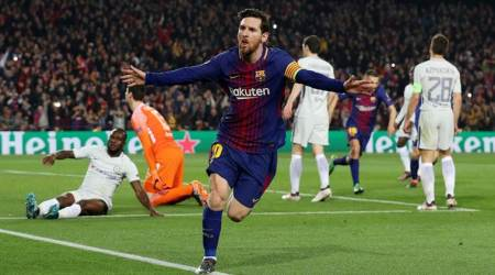 Lionel Messi creates record, scores 100th goal in Champions League