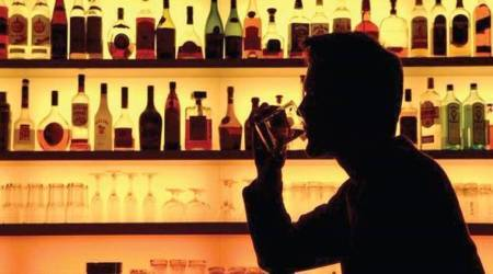 alcohol problem in Bihar, trained dogs