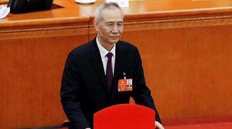 Liu He, a key economic adviser to China's President Xi Jinping, was elected as the vice premier. (Photo: Reuters)