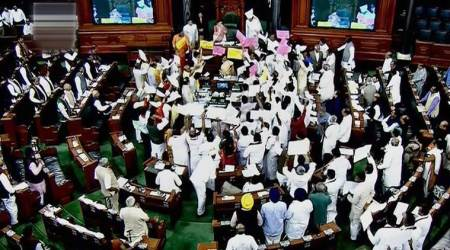 Lok Sabha, Rajya Sabha adjourned for seventh consecutive day, Finance Bill not taken up