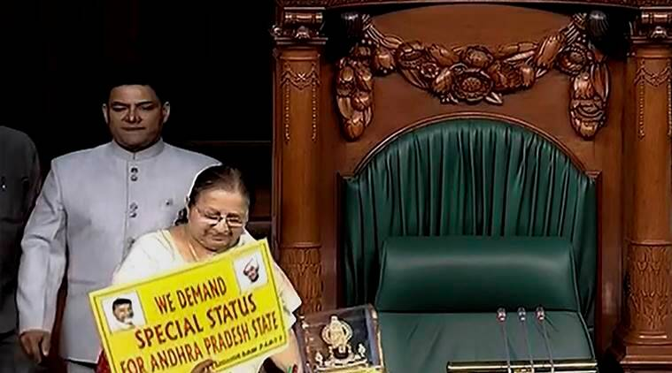 No-confidence motions against Modi govt not taken up amid protests, sloganeering in Parliament