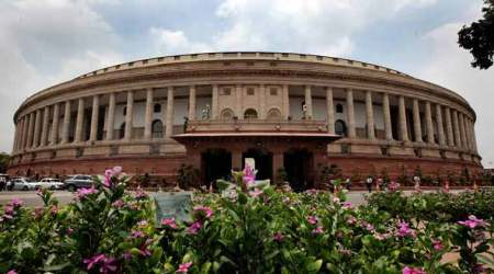 Lok Sabha speaker Sumitra Mahajan adjourned the House till 12 noon