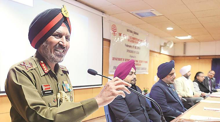 Two-front war not a good idea, says top general