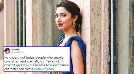 Video of Mahira Khan smoking goes viral again; Twitterati stand by her this time