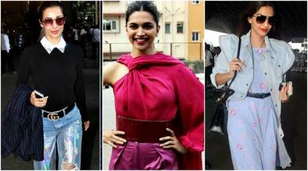 Deepika Padukone, Malaika Arora, Sonam Kapoor: Bollywood celebs show belts can be a cool accessory