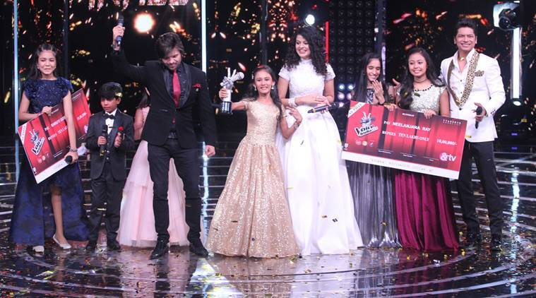 Manashi Sahariah is the winner of The Voice India Kids