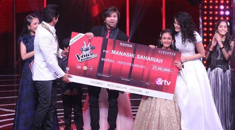 The Voice India Kids 2 winner is Manashi Sahariah