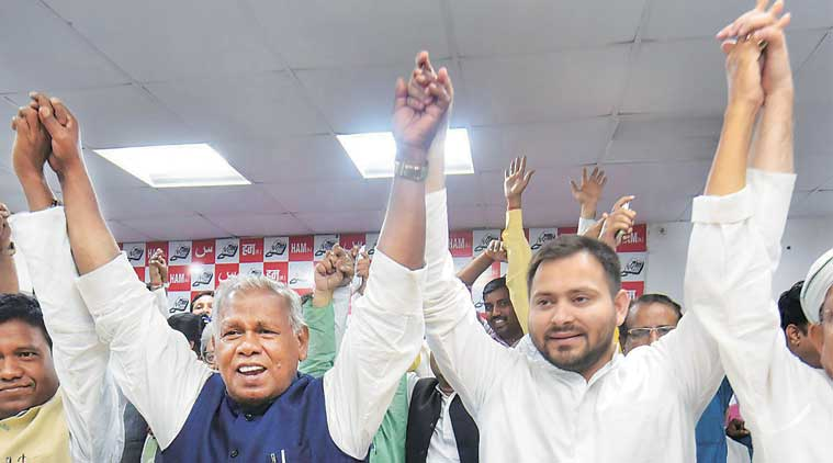 Congress welcomes Manjhi`s decision to join grand alliance