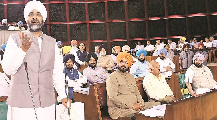 Manpreet gets personal as he attacks Badals, Majithia in House
