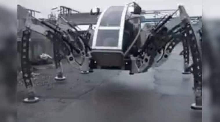 viral video, robot spider, spider robot, spider robot manti