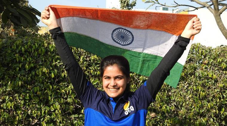 Manu Bhaker at ISSF World Cup