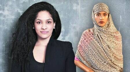 Masaba Gupta launches the 'hijab-sari' as part of her spring/summer 2018 collection