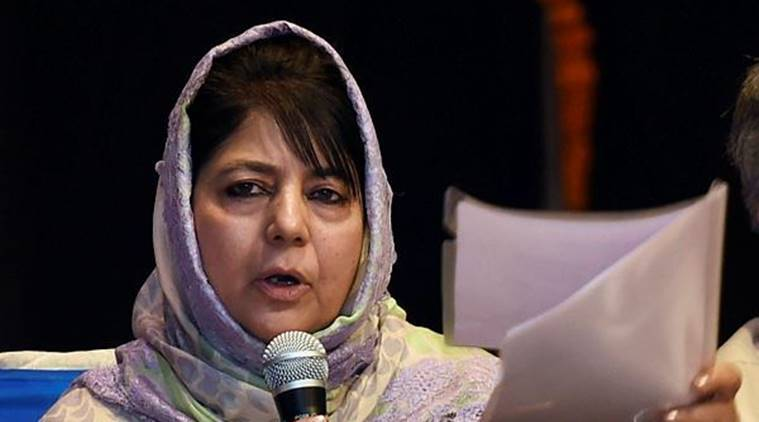 Mehbooba Mufti calls crucial PDP meeting, coalition with BJP on stake