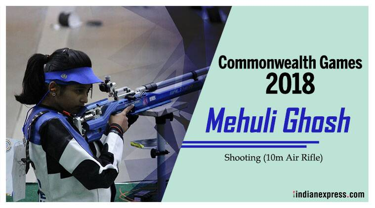 Mehuli Ghosh will make her debut Commonwealth Games appearance.