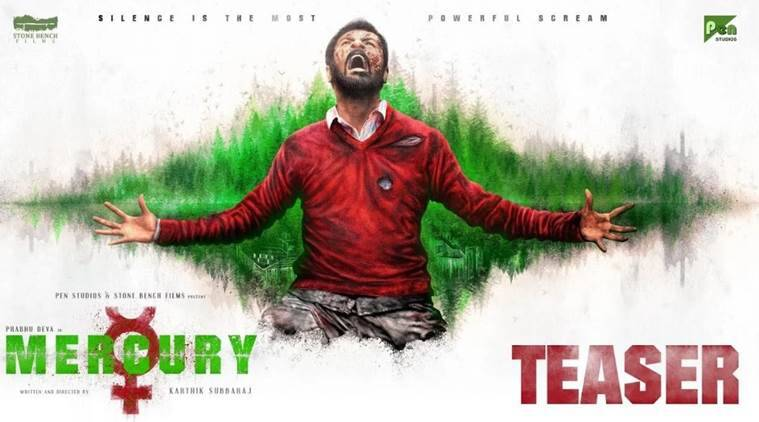 Teaser for 'Mercury', Karthik Subbaraj's silent thriller out