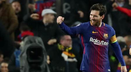 Majestic Lionel Messi scores twice as Barcelona beat Chelsea 4-1, progress to Champions League quarter-final