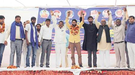 At Jind rally, Jignesh Mevani asks Dalits to unite against Manohar Lal Khattar govt