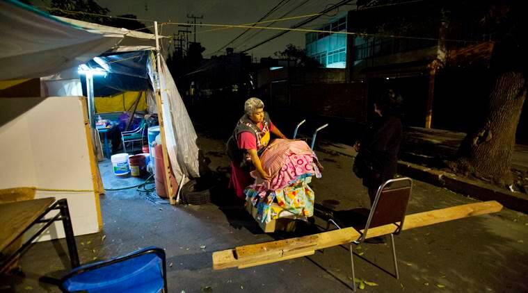mexico earthquake, mexico city, 2017 mexico quake, earthquake survivors, indian express