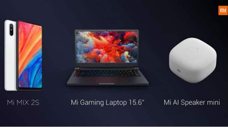Xiaomi, Xiaomi Mi Mix 2S, Xiaomi Mi Mix 2S price in India, Mi Mix 2s price, Mi Mix 2s features, Mi Mix 2s specifications, Mi Mix 2s features, Mi Gaming laptop, Mi AI Speaker Mini