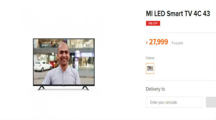 Mi LED Smart TV 4C 43, Mi TV 4C 43, Mi TV 4C India, Mi TV 4C price in India, 43-inch Mi LED Smart TV 4C, Mi LED Smart TV 4C price in india, Xiaomi Mi TV