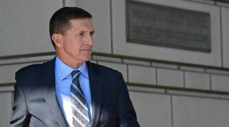 Michael Flynn campaigns in first appearance since guilty plea