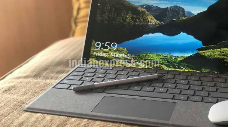 how to put battery in taskbar surface pro