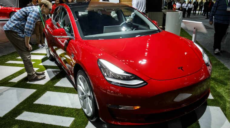 Tesla temporarily suspended Model 3 production in late February