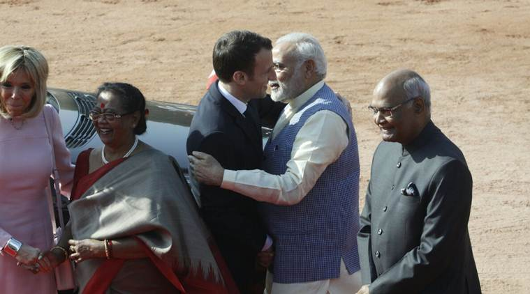 French President Emmanuel Macron in India LIVE UPDATES