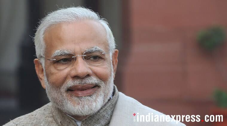 """Prime Minister Narendra Modi said, """"Three years on, I am delighted to see how Mudra Yojana has brought prosperity in the lives of many"""". (Express photo/File)"""