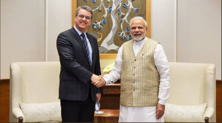 World Trade Organisation chief calls on PM Modi, says global trade environment is risky at present