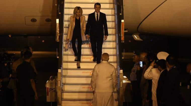Emmanuel Macron arrives; India, France work on renewing Rafale clause