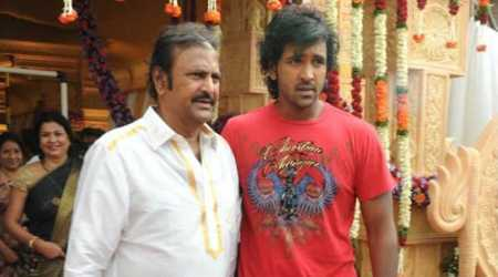 Vishnu Manchu turns director for Mohan Babu's first TV commercial