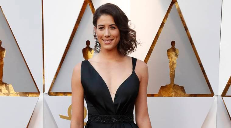 Garbine Muguruza at the Oscars