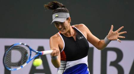 Spain's Conchita Martinez leaves compatriot Garbine Muguruza's coaching team